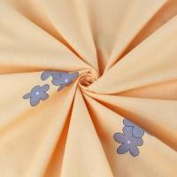 Постельное белье из поплина - 2 спальное - простыня на резинке 180х200х25 - F-36012