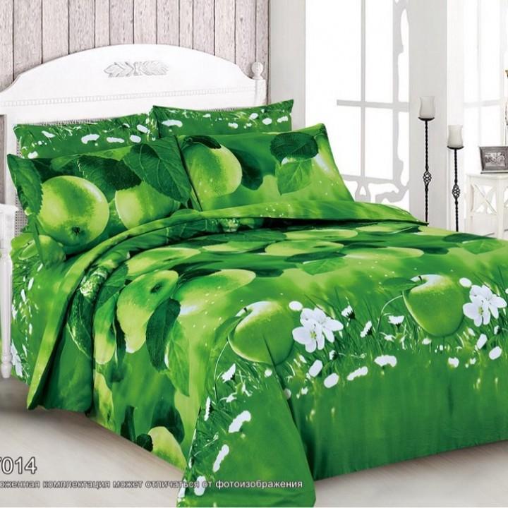 Постельное белье поплин 2 спальное - F-7014