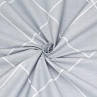 Постельное белье поплин - Евро F-19002
