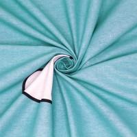 Постельное белье из поплина - 2 спальное - простыня на резинке 160х200х25 - F-19014