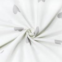 Постельное белье из поплина - 2 спальное - простыня на резинке 160х200х25 - K-970