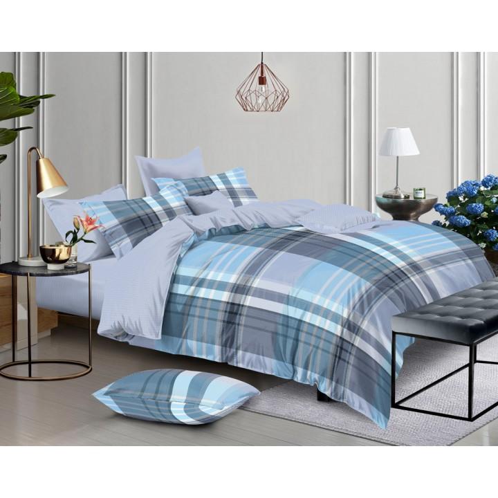 Постельное белье поплин 1.5 спальное K-70260