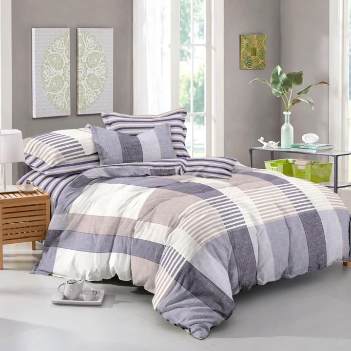 Постельное белье поплин 1.5 спальное K-976