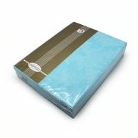 Постельное белье поплин 1.5 спальное Аквамарин
