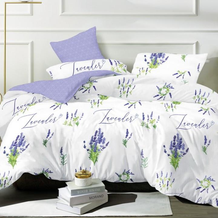 Постельное белье из поплина - 2 спальное - простыня на резинке 180х200х25 - P-9229