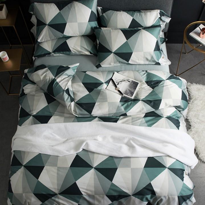 Постельное белье из поплина - 2 спальное - PL-1715
