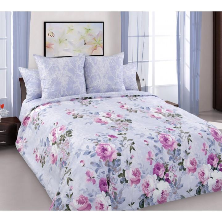 Постельное белье перкаль 2 спальное на резинке 180х200х25 - Оттепель