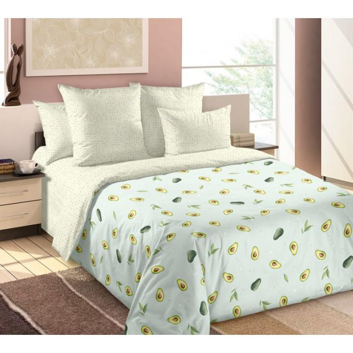 Постельное белье перкаль 2 спальное - TD-20842-1.Авокадо