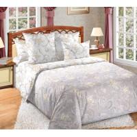 Постельное белье перкаль 2 спальное на резинке 180х200х25 - 20415-2