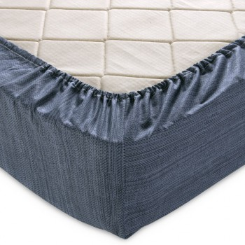 Простыня на резинке 180х200х25 перкаль -11983-7