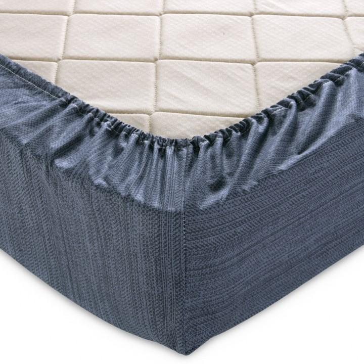 Простыня на резинке 180х200х25 перкаль  - 11983-7