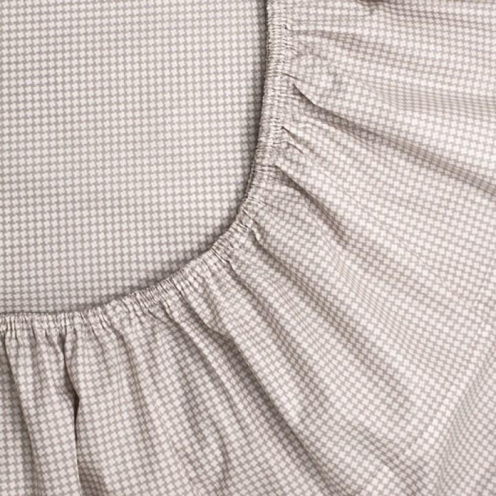 Простыня на резинке 140х200х25 перкаль - 19780-20