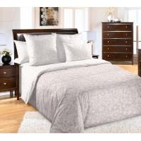 Постельное белье перкаль 2 спальное на резинке 180х200х25 - Песочные узоры