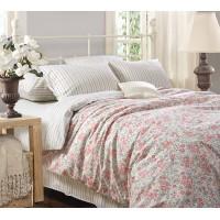 Постельное белье перкаль 2 спальное на резинке 160х200х25 - Вероника