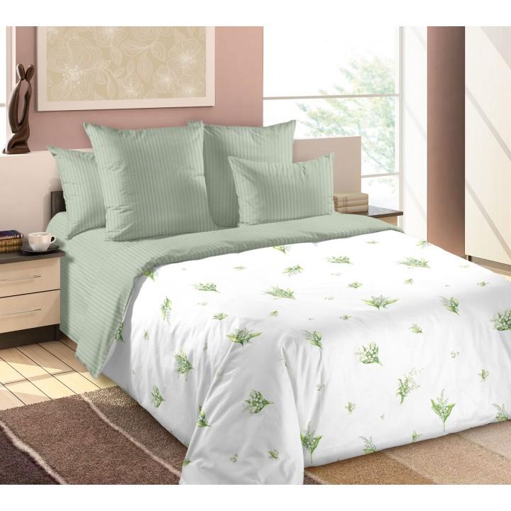 Постельное белье перкаль 1.5 спальное  TD-20902-1, Жемчужина леса