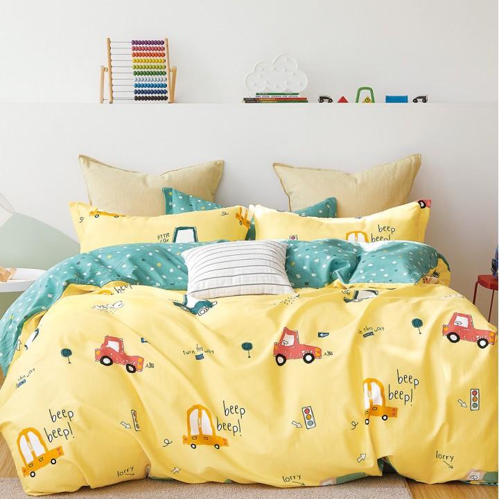 Полукомплект постельного белья, сатин 1.5 спальное DA-156