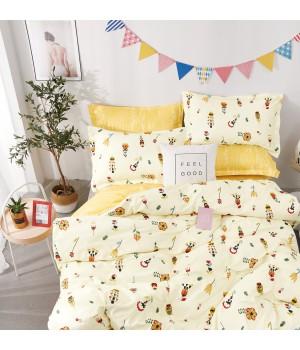 Комплект постельного белья ЕВРО сатин  DA 2-182