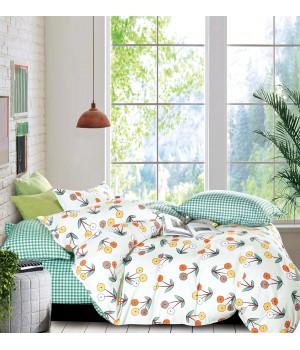 Комплект постельного белья ЕВРО сатин DA 4-200 Постельное белье