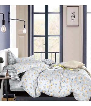 Комплект постельного белья ЕВРО Сатин DA 4-235 Постельное белье