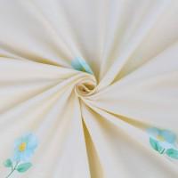 Постельное белье сатин 2 спальное с простыней на резинке 160х200 - PL-3502