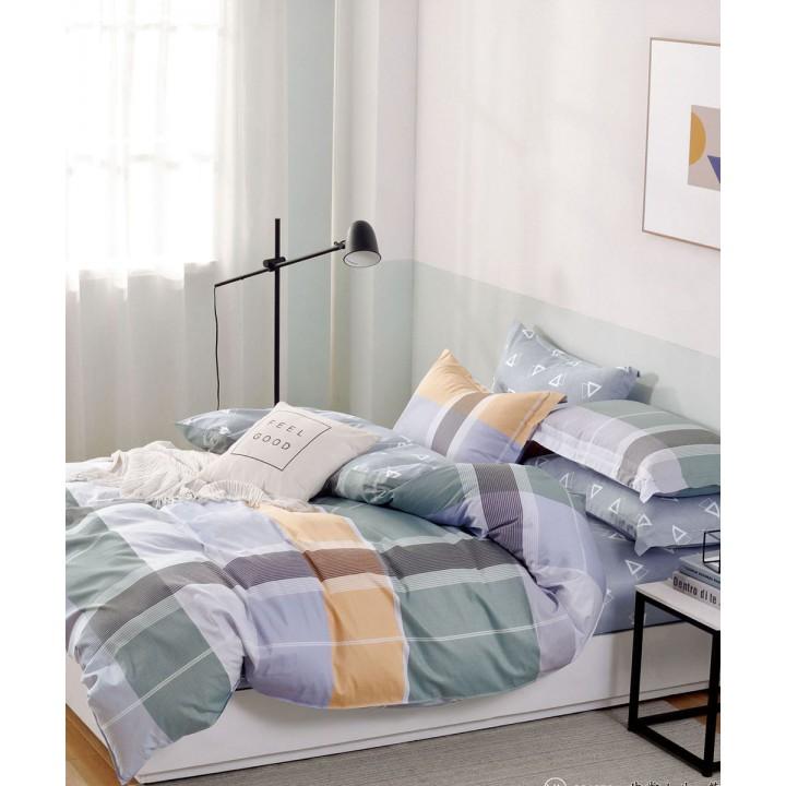 Постельное белье сатин 2 спальное PL-455