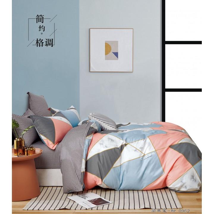 Постельное белье сатин 2 спальное PT-1866