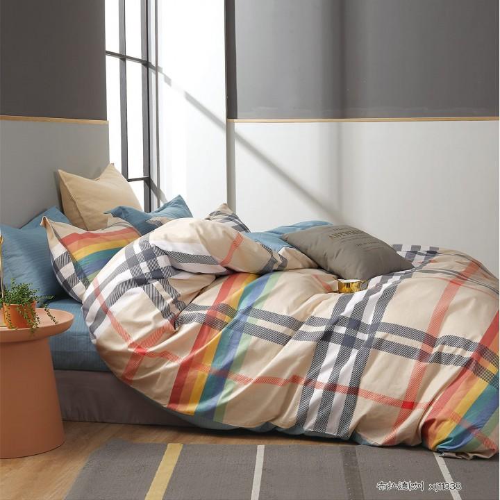 Постельное белье сатин 2 спальное PT-2134