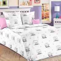 Детское постельное белье бязь 1.5 спальное Китти