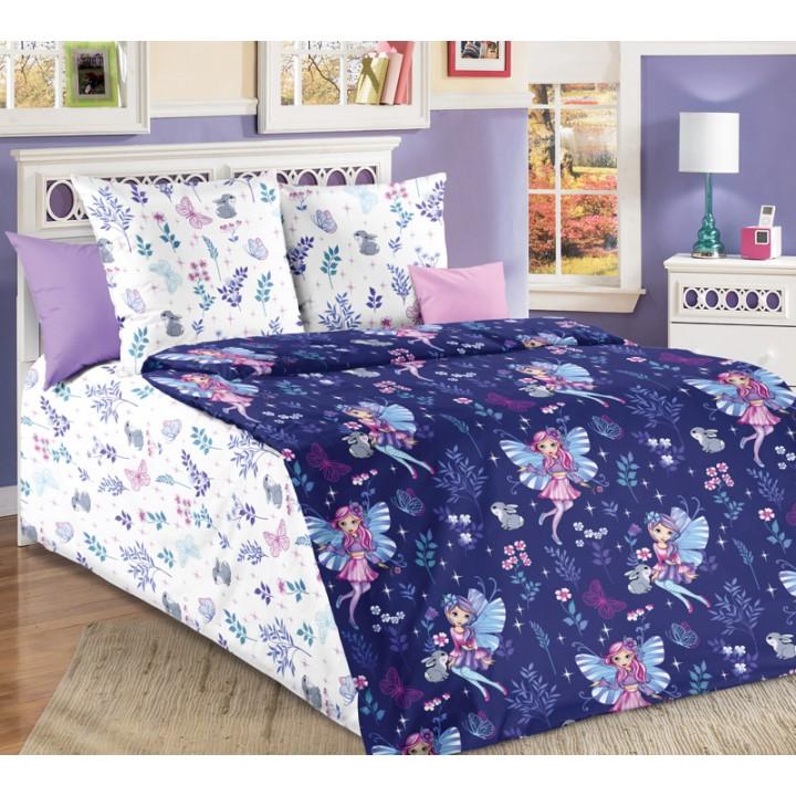 Детское постельное белье бязь 1.5 спальное Лесные нимфы