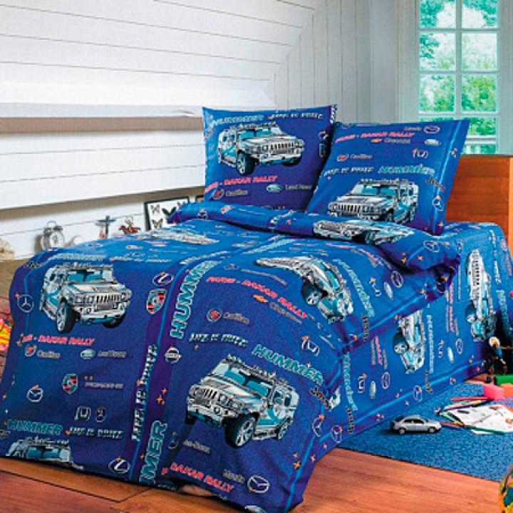Детское постельное белье бязь 1.5 спальное Команда