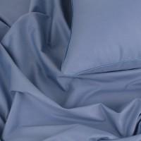Постельное белье сатин однотонный, 1.5-спальный, L-3915. Темная лаванда