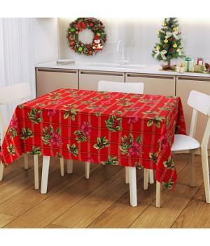 Рождественский букет 150х200 см, Рогожка