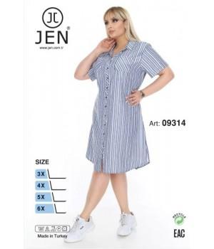 Халат 3XL-6XL Jen 09314
