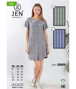 Халат M-3XL Jen 09805