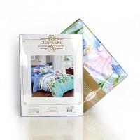 Постельное белье перкаль 2 спальное на резинке 160х200х25 - Амулет