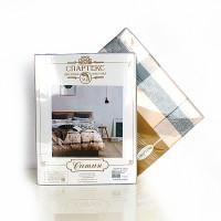 Постельное белье сатин 2 спальное с простыней на резинке 160х200 - PT-1904